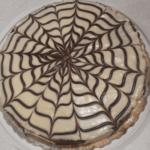 Как сделать паутинку на торте