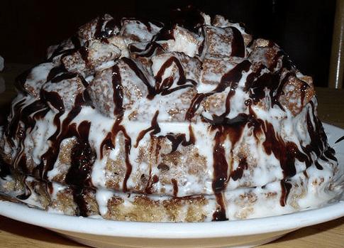 Пошаговый рецепт торта «Хлопец кучерявый»