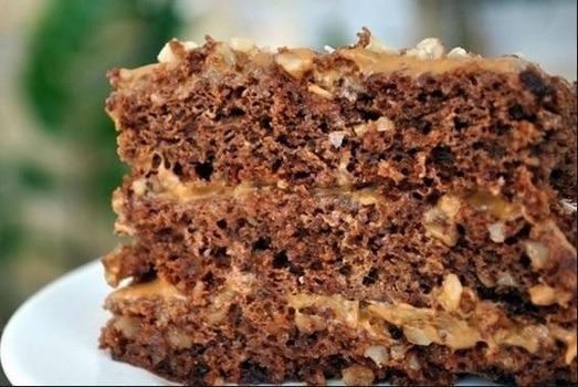 Торт «Золотой ключик рошен» рецепт