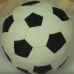 Торт футбольный мяч пошагово