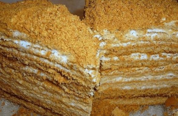 медовый торт пропитка