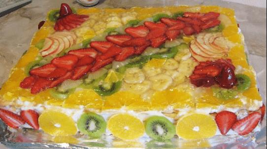 Торт Тропиканка пошаговый рецепт