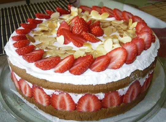 Французский торт «Фрезье»