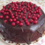 Шоколадный торт от Энди шефа