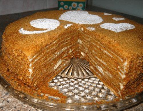 Торт рыжик рецепт домашний