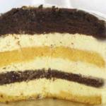 Торт Птичье молоко с манкой и лимоном