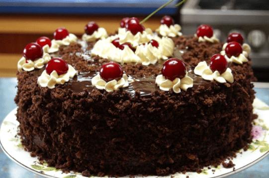 Торт Пьяная вишня от бабушки Эммы