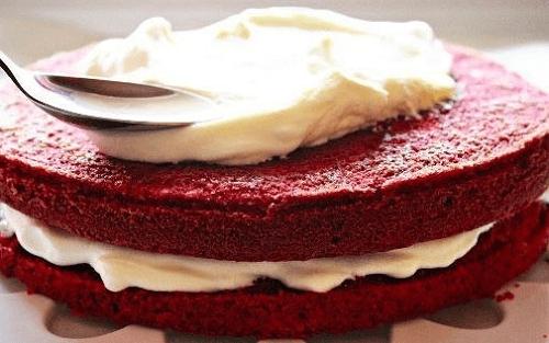 Торт «Красный бархат» (без красителя)