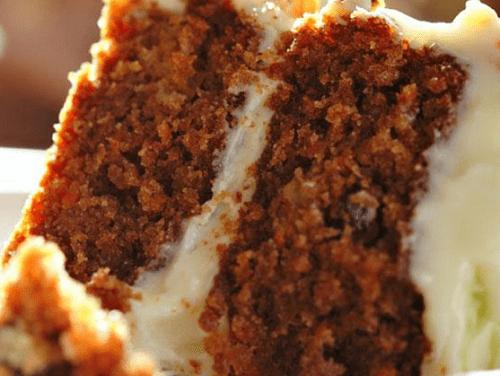 Морковный торт как в Старбаксе