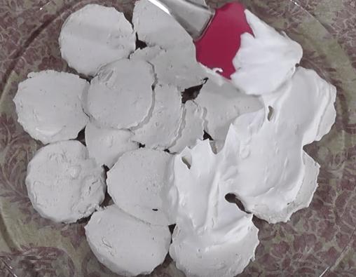 Зефирный торт с фруктами без выпечки