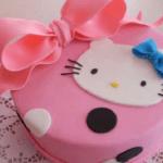 Торт из мастики «Хэлло Китти»