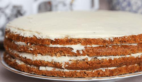 Морковный торт по Дюкану