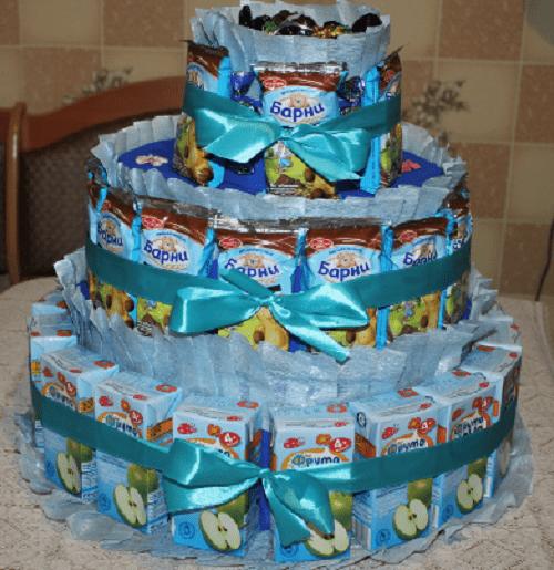 Торт из мишек Барни