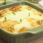 Белковый омлет в духовке - диетический рецепт