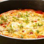 Вкусный и полезный омлет с кабачками в духовке