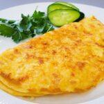 Готовим вкусный омлет с плавленным сыром