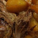 Индоутка с картошкой в рукаве в духовке
