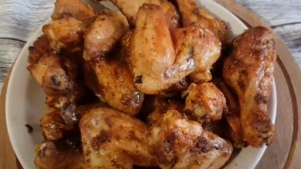 Куриные крылышки в духовке с соевым соусом