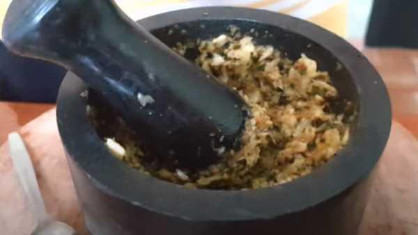 Баранья лопатка в духовке в фольге