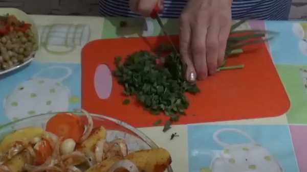 Говядина в рукаве в духовке с овощами