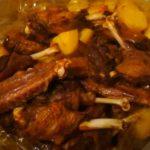 Индоутка в рукаве в духовке с картошкой