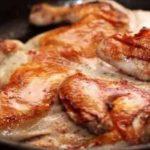 Как жарить цыпленка табака на сковороде