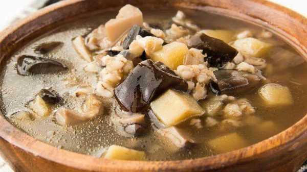 Как и сколько варить грибной суп