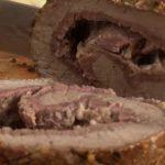Рулет из говядины в духовке в фольге