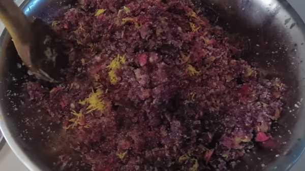 Как и сколько варить варенье из лепестков роз