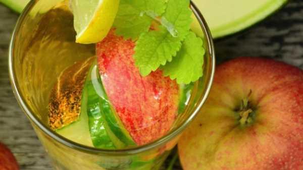 Как варить компот из свежих яблок