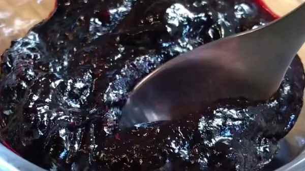 Как варить густое варенье (желе) из черники на зиму