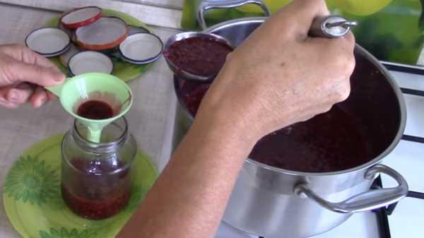 Как и сколько варить варенье из малины