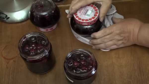 Как и сколько варить варенье из вишни