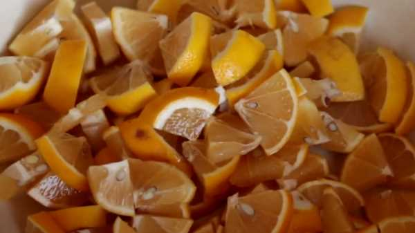 варенье из лимонов кусочками с кожурой