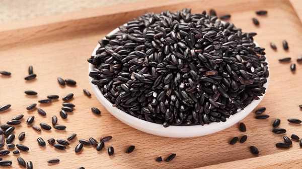 Как и сколько варить черный рис