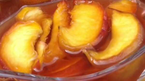 Как варить варенье из персиков дольками без косточек