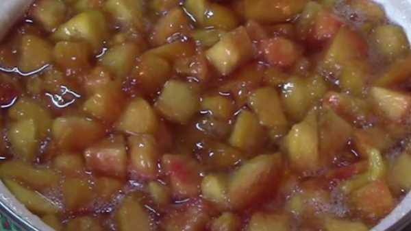 Как и сколько варить варенье из персиков