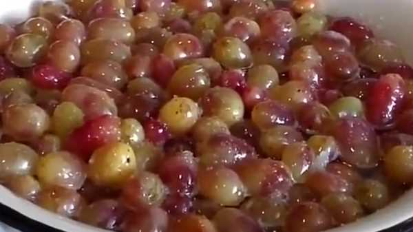 Как и сколько варить варенье из винограда