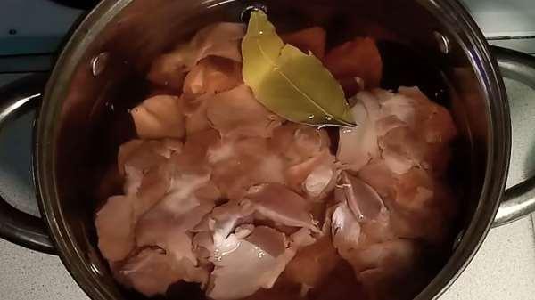 Как и сколько варить куриные желудки