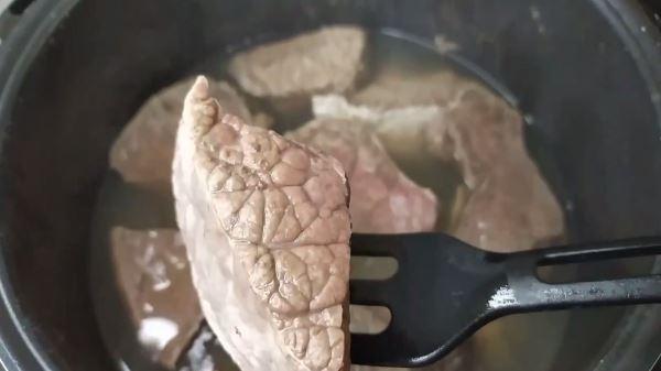 Как и сколько варить говяжье легкое